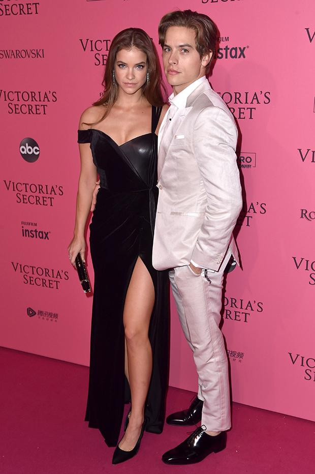 Dylan Sprouse & Barbara Palvin VS Fashion Show 2018
