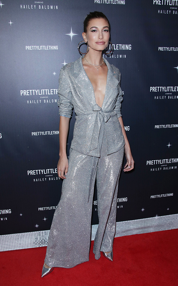 Hailey Baldwin PrettyLittleThing Collection Launch