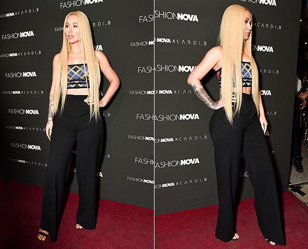 Iggy Azalea Fashion Nova Event November 2018