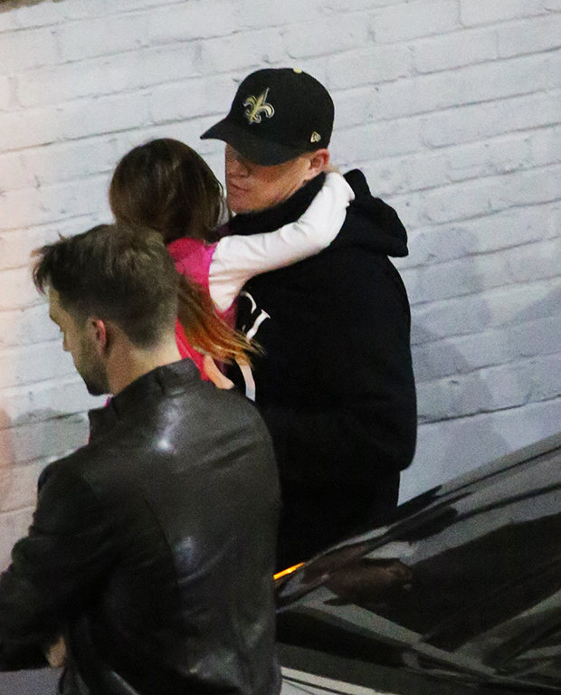 Channing Tatum & Daughter At Jessie J Concert