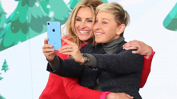 Julia Roberts & Ellen DeGeneres