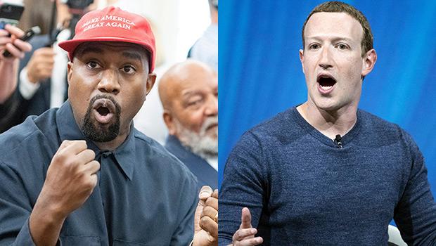 Kanye West & Mark Zuckerberg