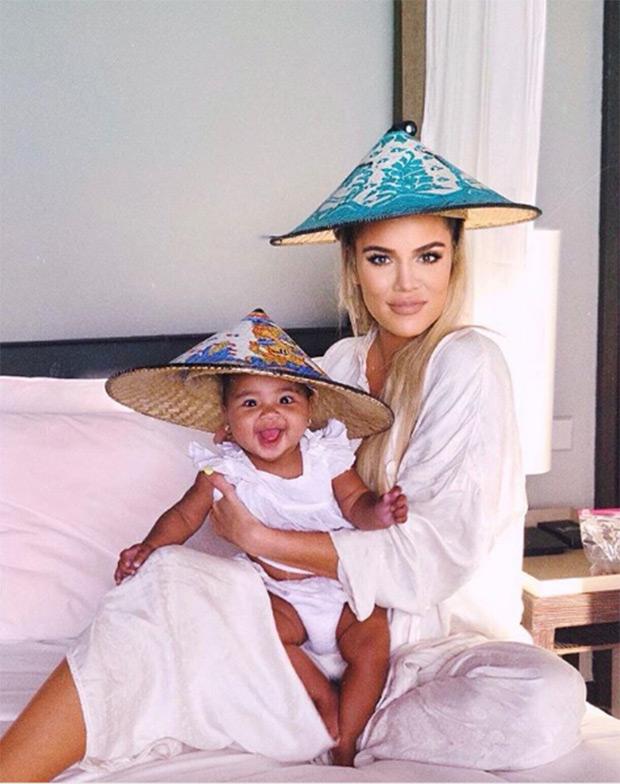 Khloe Kardashian & True Thompson Hats