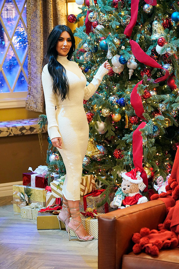 Kim Kardashian Christmas special