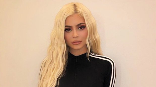 kylie jenner yellow blonde