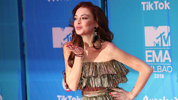 Lindsay Lohan EMAs 2018