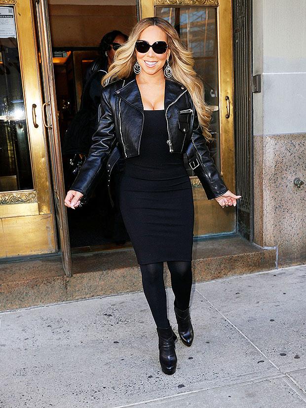 Mariah Carey New York City November 2018