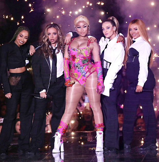 Little Mix & Nicki Minaj Performance MTV EMA