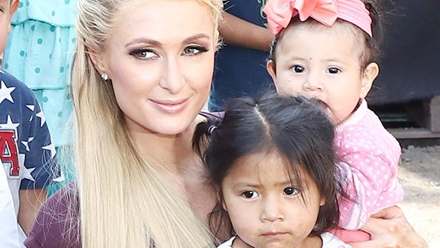Paris Hilton & Kids