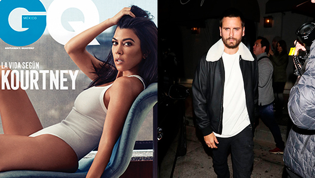 Scott Disick Reacts Kourtney Kardashian GQ Pics