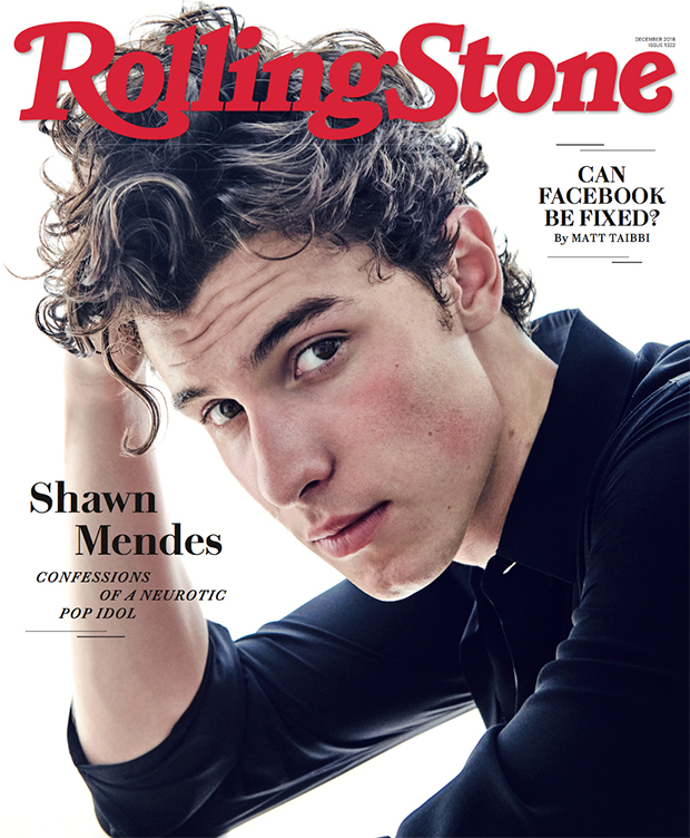 Shawn Mendes Rolling Stone