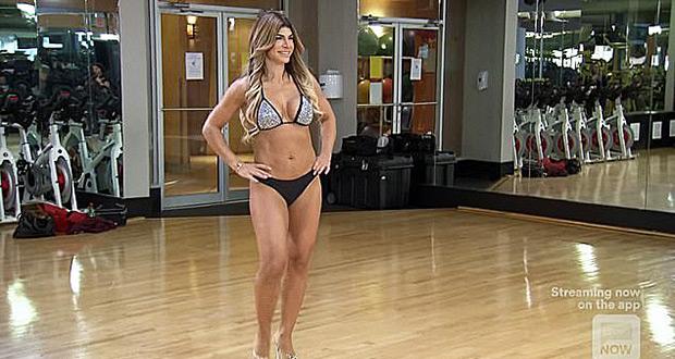 Teresa giudice sparkly bikini