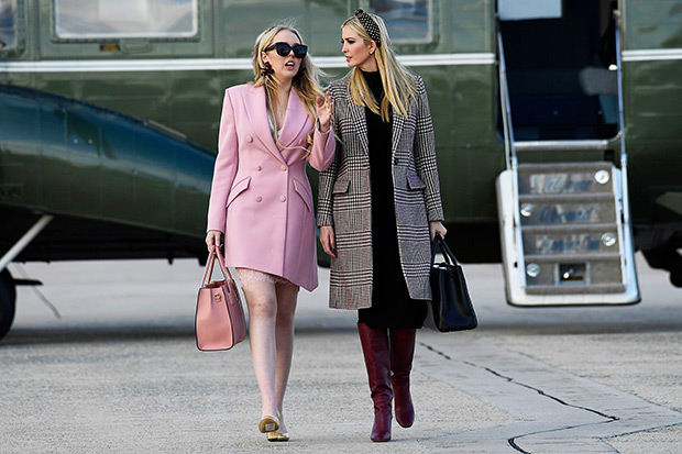 Tiffany & Ivanka Trump Thanksgiving