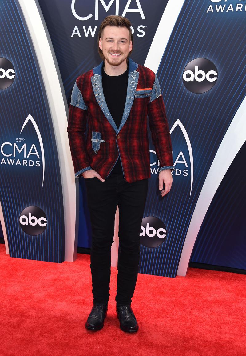Morgan Wallen52nd Annual CMA Awards, Arrivals, Nashville, USA - 14 Nov 2018