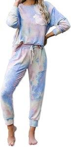 tie dye loungewear kikibell