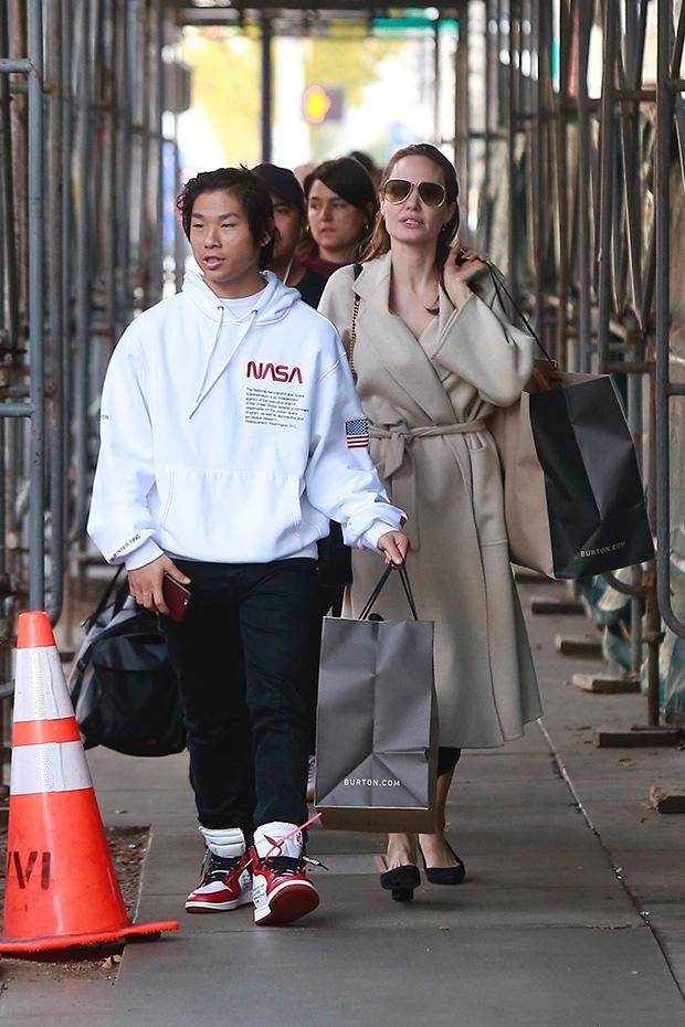Pax Jolie-Pitt, Angelina Jolie