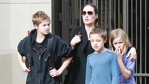 Angelina Jolie, Kids