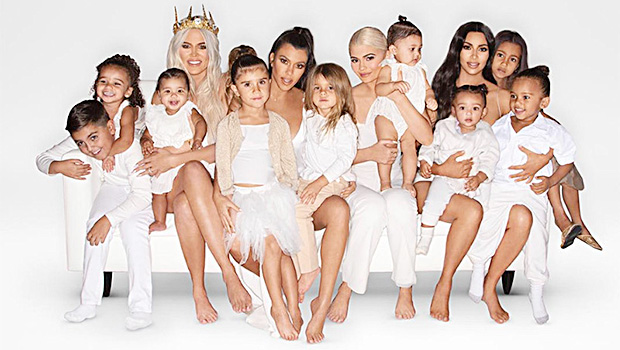 Kardashian Christmas card 2018