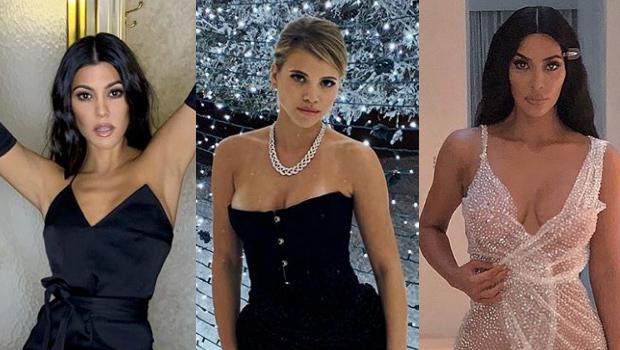 Kourtney Kardashian, Sofia Richie, Kim Kardashian