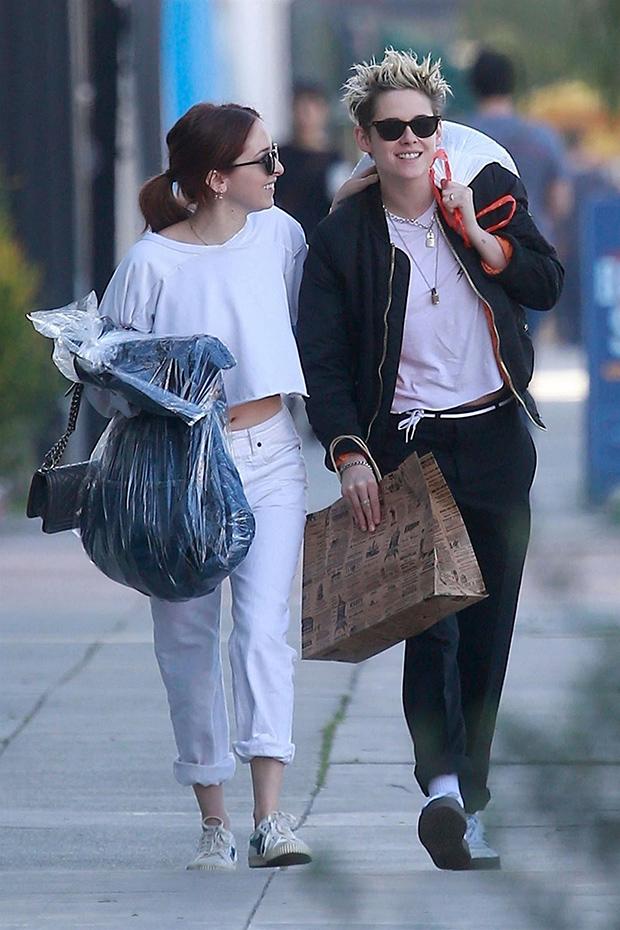 Kristen Stewart & Sara Dinkin