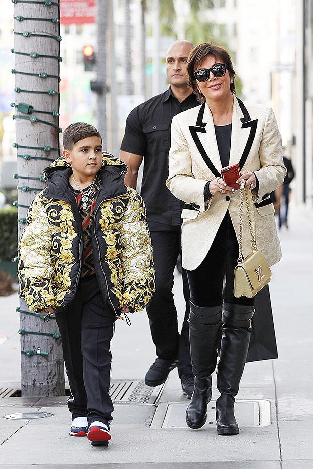 mason disick versace coat