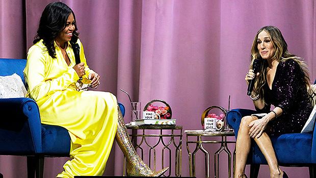 Michelle Obama & Sarah Jessica Parker