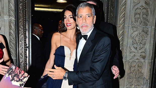 Amal Clooney George Clooney United Nations Dinner