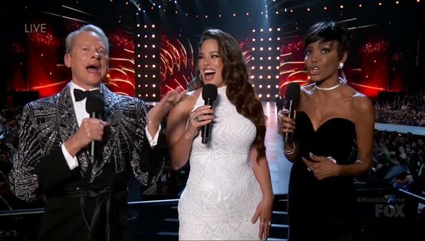 Ashley Graham at Miss Universe