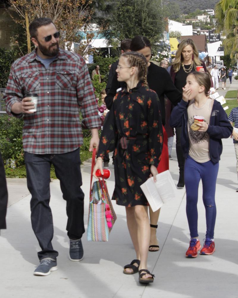 Ben Affleck, Jennifer Garner & Kids