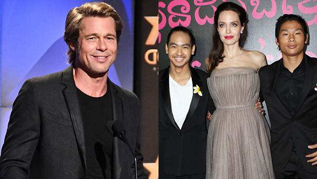 Brad Pitt relationship with sons improved