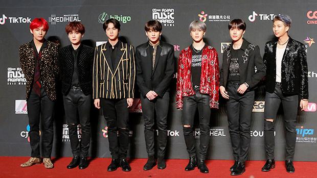 BTS at MAMA Awards 2018