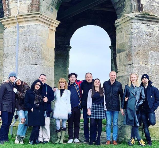 Sophie Turner's family hosts Jonas' and Priyanka Chopra Christmas 2018
