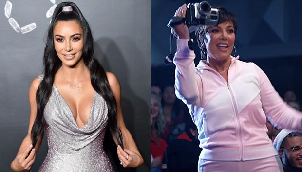 Kim Kardashian Kris Jenner milking Thank U Next