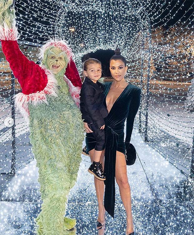 kourtney kardashian reign disick Christmas Eve