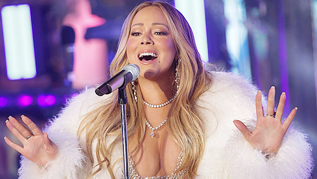 Mariah Carey performs on stage at the New Year's Eve celebration in Times Square, in New York2017 New Year's Eve Times Square Performances, New York, USA - 31 Dec 2017