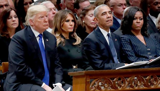 Michelle Obama Melania Trump