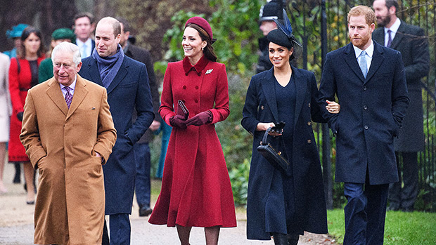 Meghan Markle, Prince Harry, Prince William & Kate Middleton