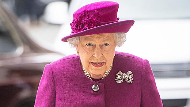 queen elizabeth prince george princess charlotte pic