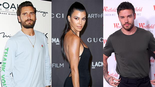 Scott Disick, Kourtney Kardashian & Liam Payne