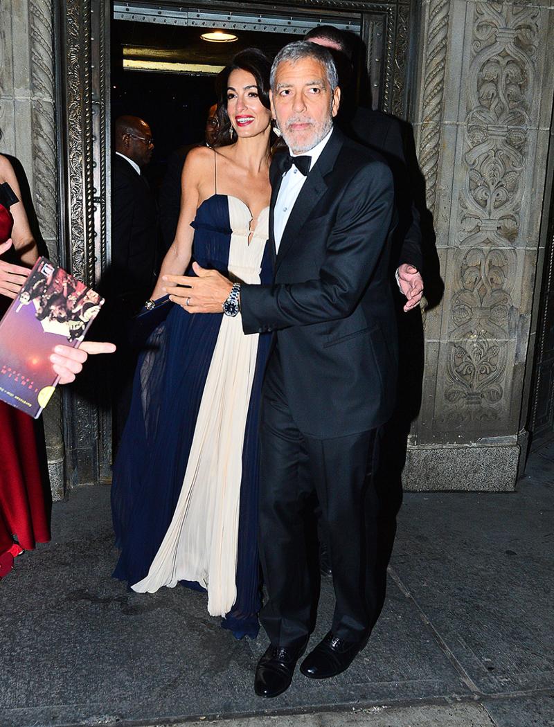 Are George Clooney Amal Splitting