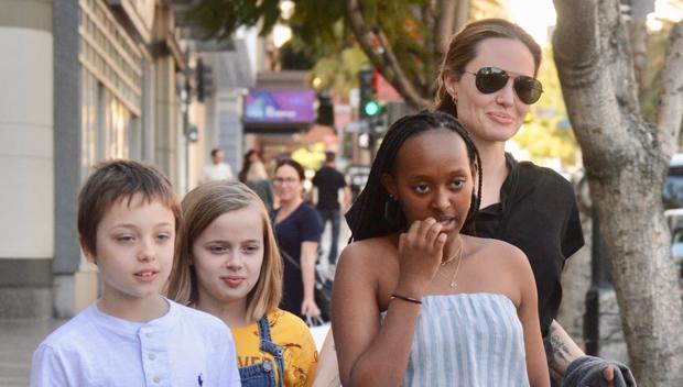 Angelina Jolie Knox Vivienne Zahara