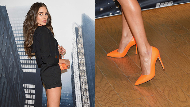celebrities bright shoes