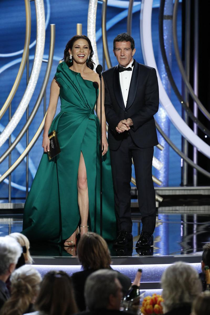 Catherine Zeta-Jones Antonio Banderas Golden Globes