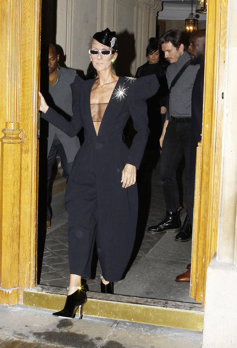 Celine DionCeline Dion out and about, Haute Couture Fashion Week, Paris, France - 25 Jan 2019