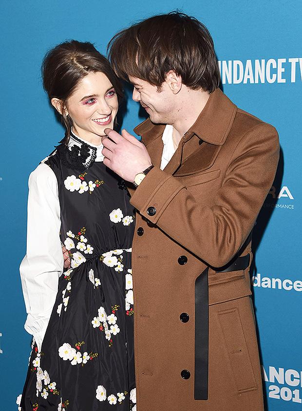 Charlie Heaton Natalia Dyer S Pda At Sundance Film Fest Sweet Pics Hollywood Life