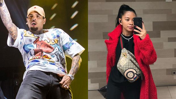 Chris Brown And Ammika Harris