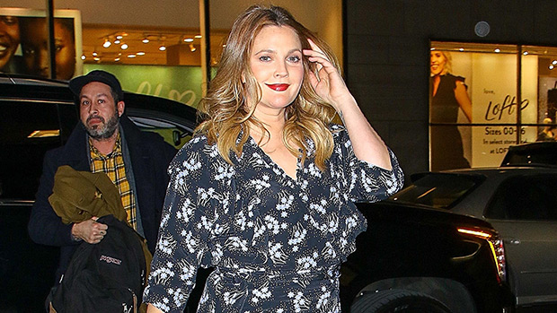 Drew Barrymore At The Late Show With Stephen Colbert Jan. 2019