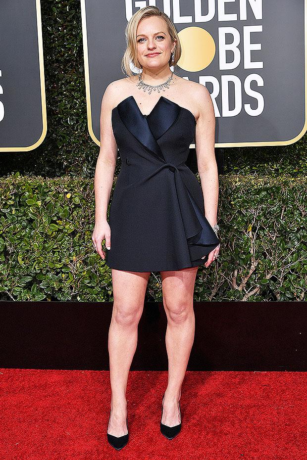 Elisabeth Moss Golden Globes 2019