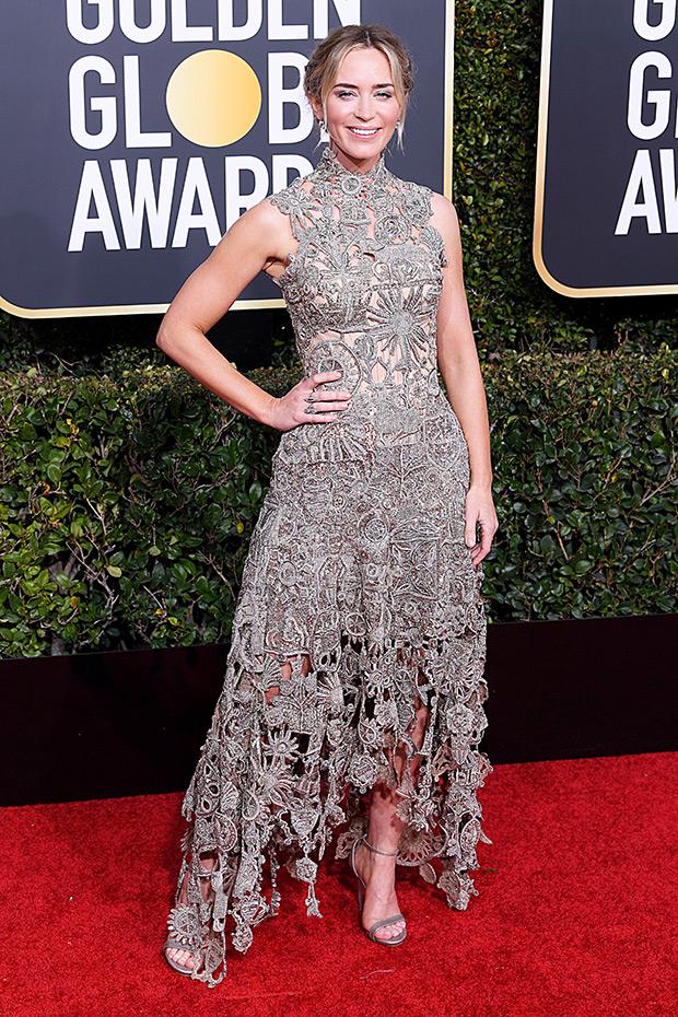 Emily Blunt Golden Globes 2019