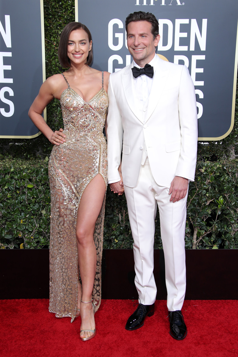 Irina Shayk and Bradley Cooper76th Annual Golden Globe Awards, Arrivals, Los Angeles, USA - 06 Jan 2019